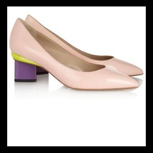 Nicholas kirkwood block heel sz 8.5
